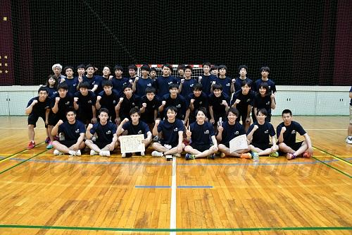 東海リーグを制した名城大セブン。2011年春季以来の優勝を飾った