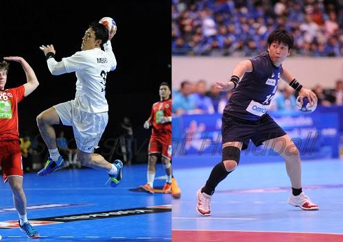 北電に追加登録された銘苅選手(左)。2年ぶりの現役復帰となる藤井選手は大阪に加入