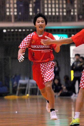 福島選抜・長澤選手