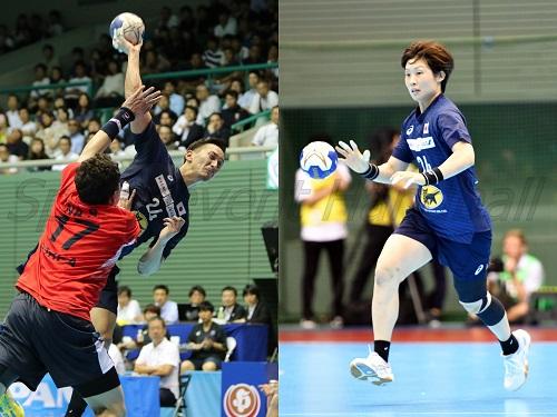 今回もキャプテンを任された男子代表・信太(写真左)と女子代表・原