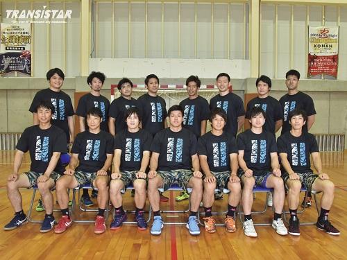 トランジスタとサプライヤー契約を結んだ琉球コラソンセブン(提供写真)