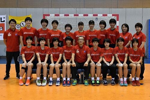 女子U-16代表チーム