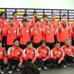 第26回世界男子選手権に挑む彗星ジャパン