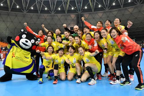 最終戦を勝利で飾り、喜びにあふれるおりひめジャパン