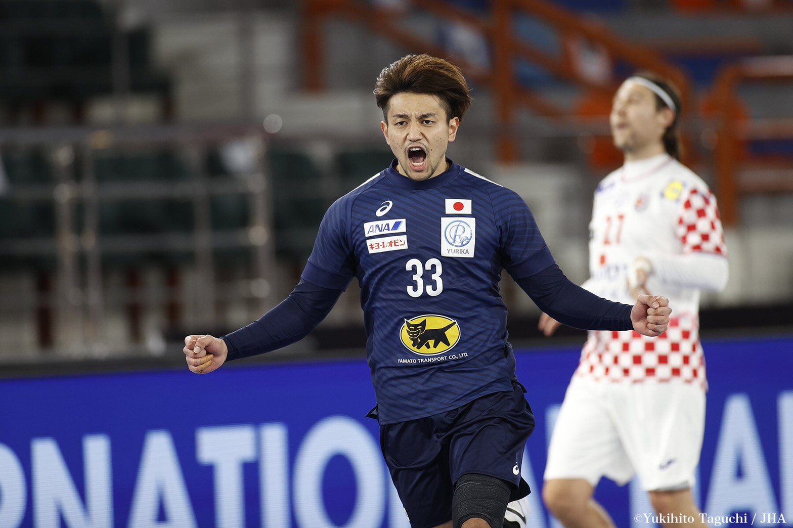 Player of the matchに選ばれた東江